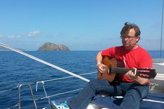 Ja na statku z gitarą